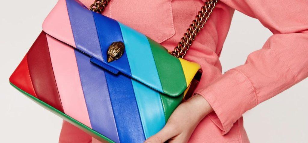 farebné dámske kabelky