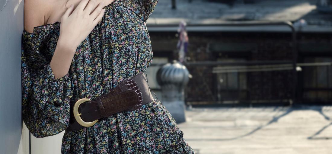 dámsky opasok na šaty